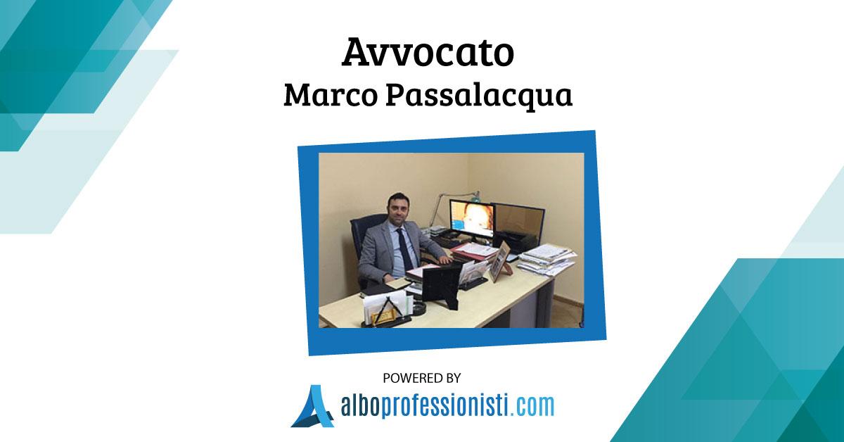 Avvocato Marco Passalacqua - Palermo