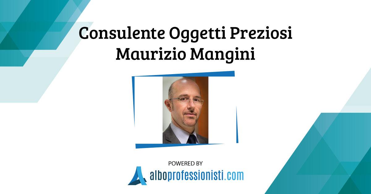 Consulente Oggetti Preziosi Maurizio Mangini - Genova