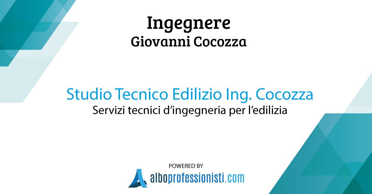 Studio Tecnico Edilizio Cocozza - Ingegneria e Tecnologia