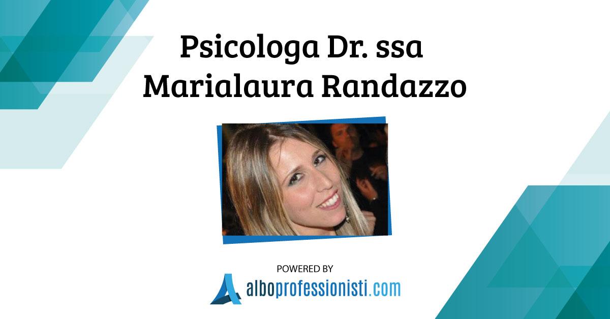 Psicologa Dr.ssa Marialaura Randazzo