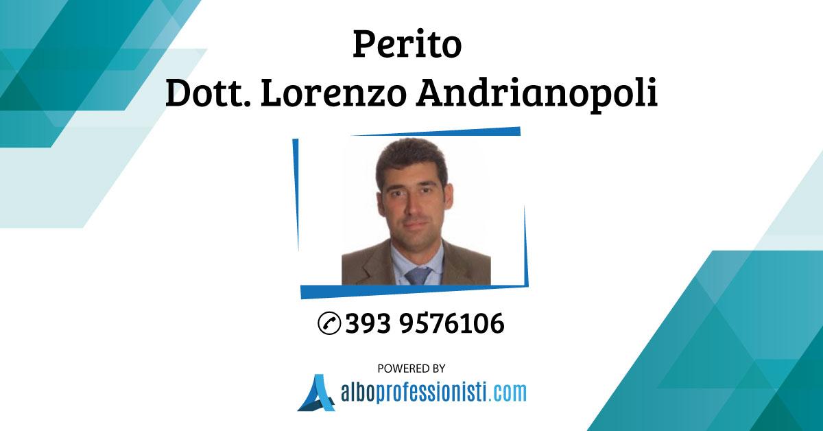 Perito Dott. Lorenzo Andrianopoli Preziosi e Arte - Genova