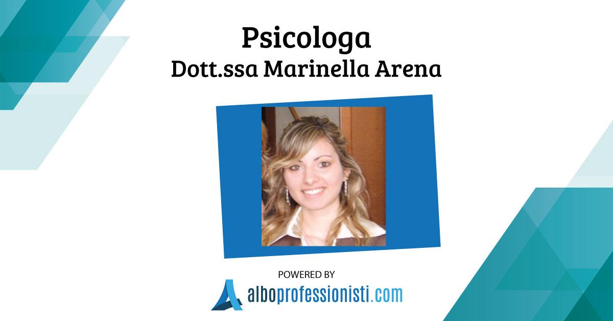 Dottoressa Marinella Arena Psicologa - Messina